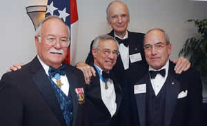Harvey Barnum, Jr., Jack Jacobs, Michael Daly & Frank Romig