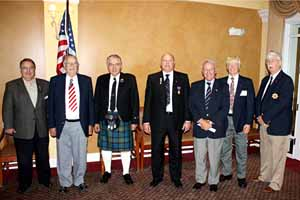 March 2011 Annual Meeting from left to right: Ron Benson, Jack Ashcraft, Larry Peck Sr, Raleigh Worsham, Ed Engelhardt, Robert Sprague, and Peter Douglas